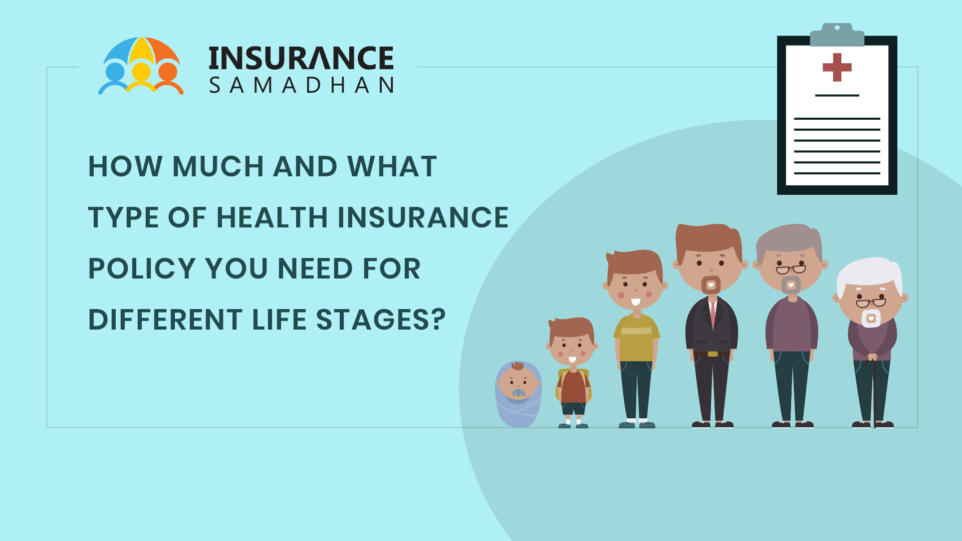 How much and what type of Health Insurance Policy you need for different life stages?