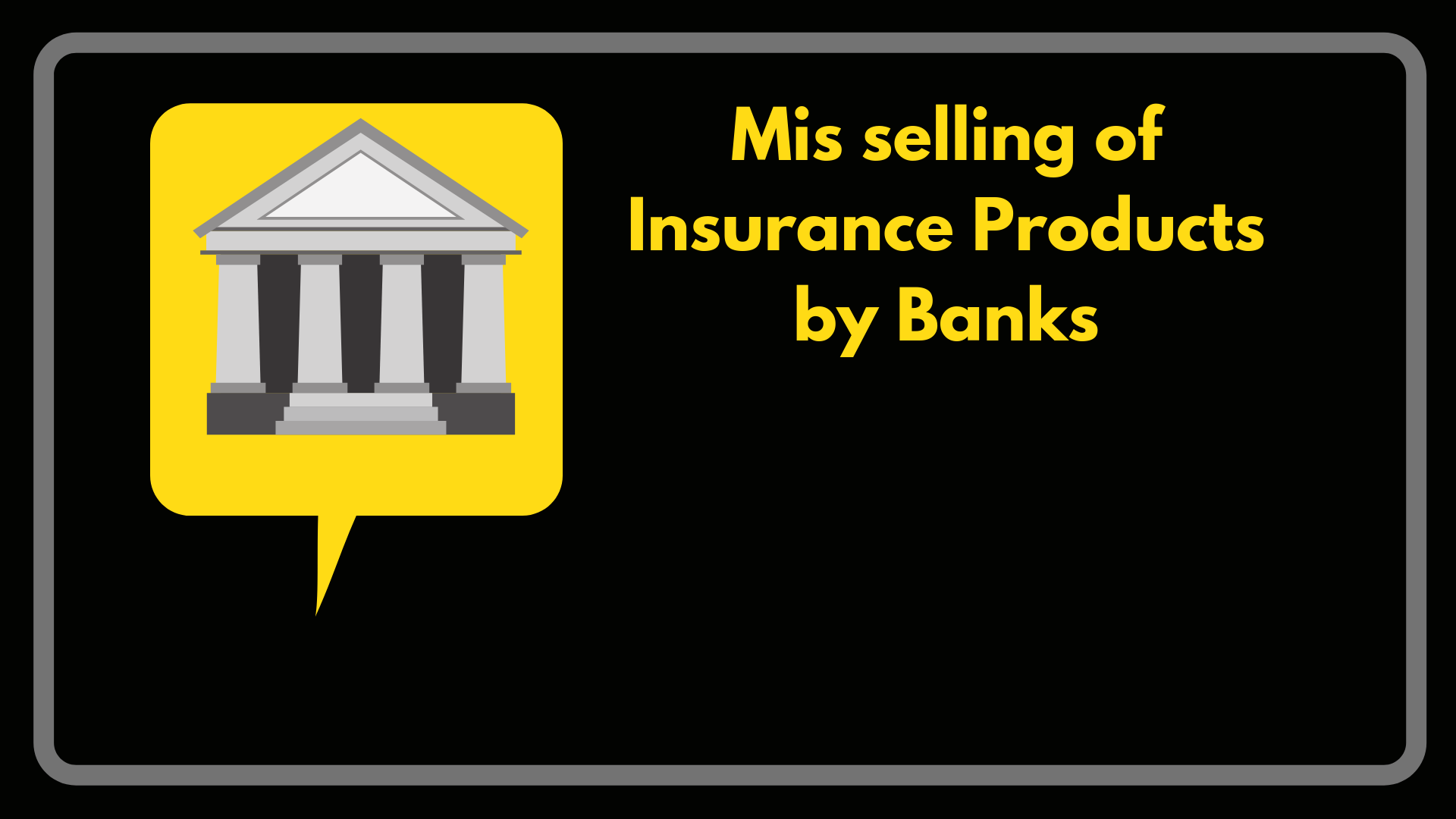 Insurance mis-sold by Bank